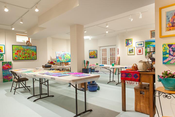 Linda Hendrickson studio