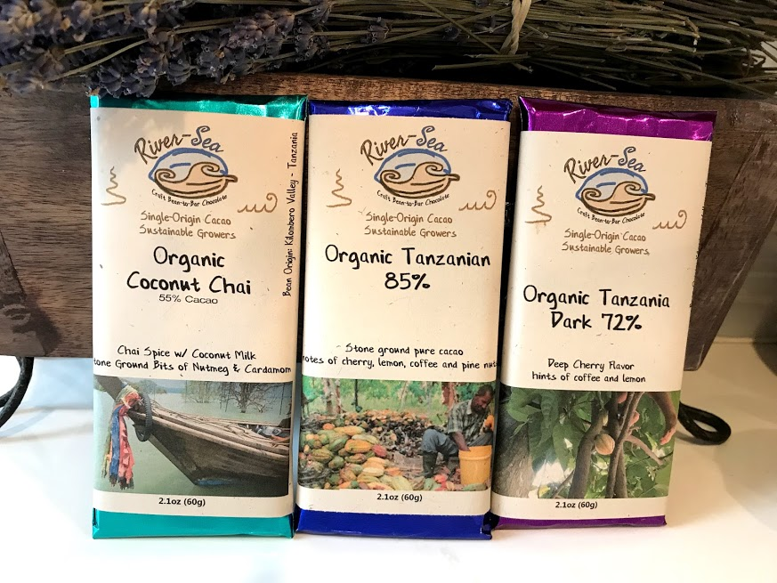 River-Sea chocolate bars