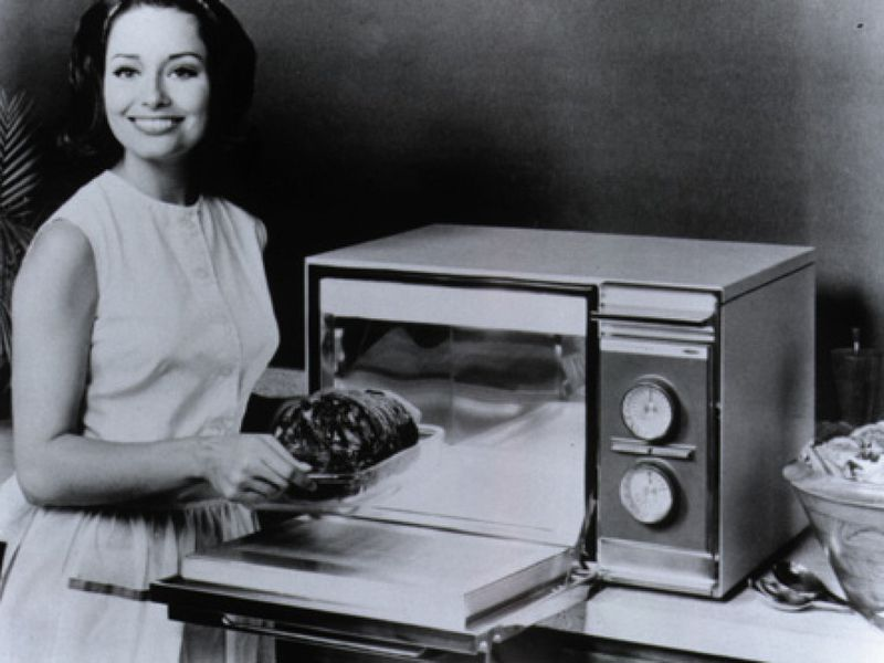 first microwave