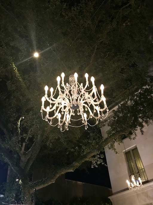 chandelier from trees