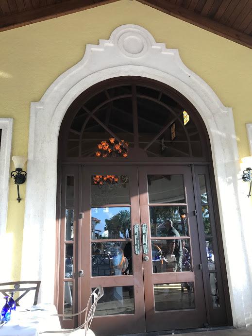 Turks restarurant doors