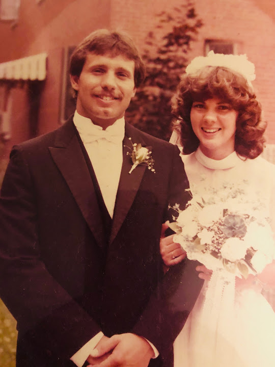 Barbara and Peters wedding pic