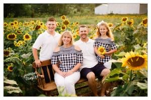 Petersburg Virginia Family Photography sunflowers 4