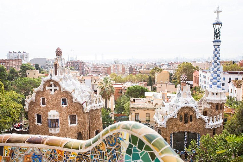 Park Guell in Barcelona sabbatical