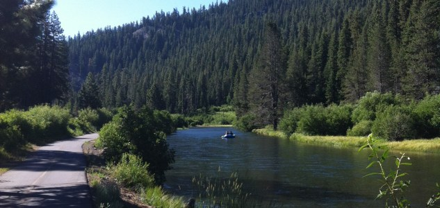 Bike Ride With Me: Along the Truckee River from Tahoe City to Squaw Valley