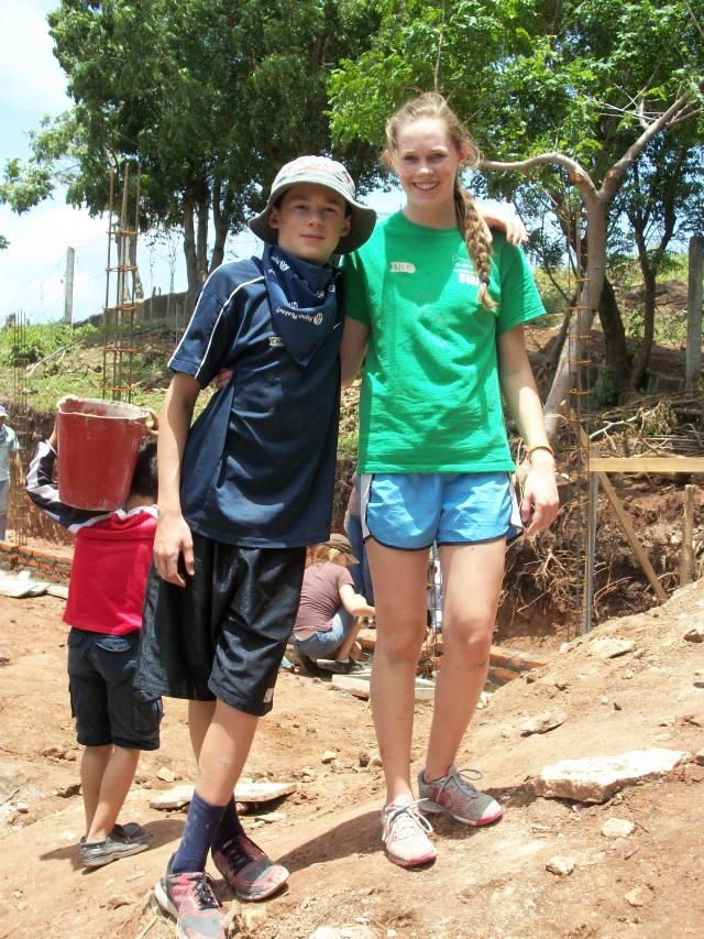 Nicaragua Lily and Cameron