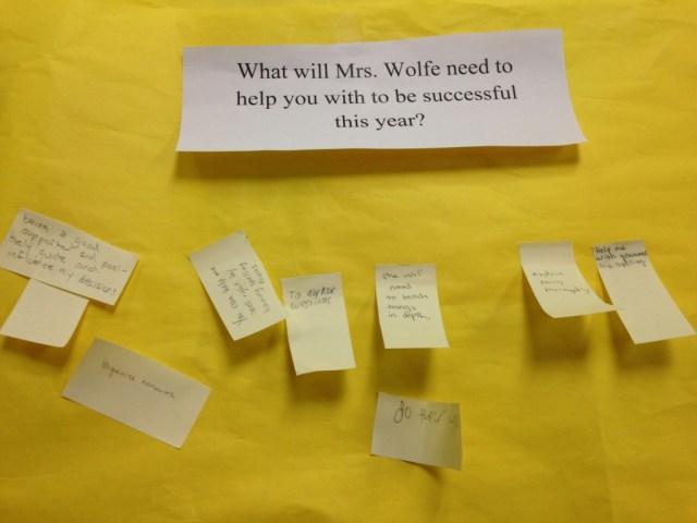 middle school teacher advice