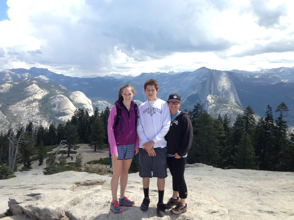 Yosemite with kids