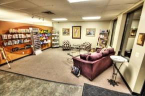 Salon products area