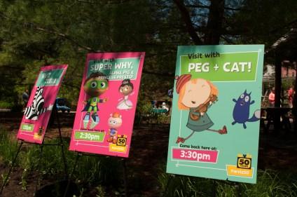 PBS character signs