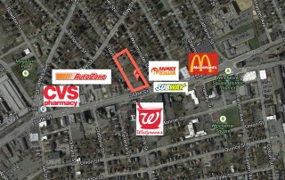 FOR SALE/GROUND LEASE: 1.54 Acre Corner Parcel at Signalized Intersection