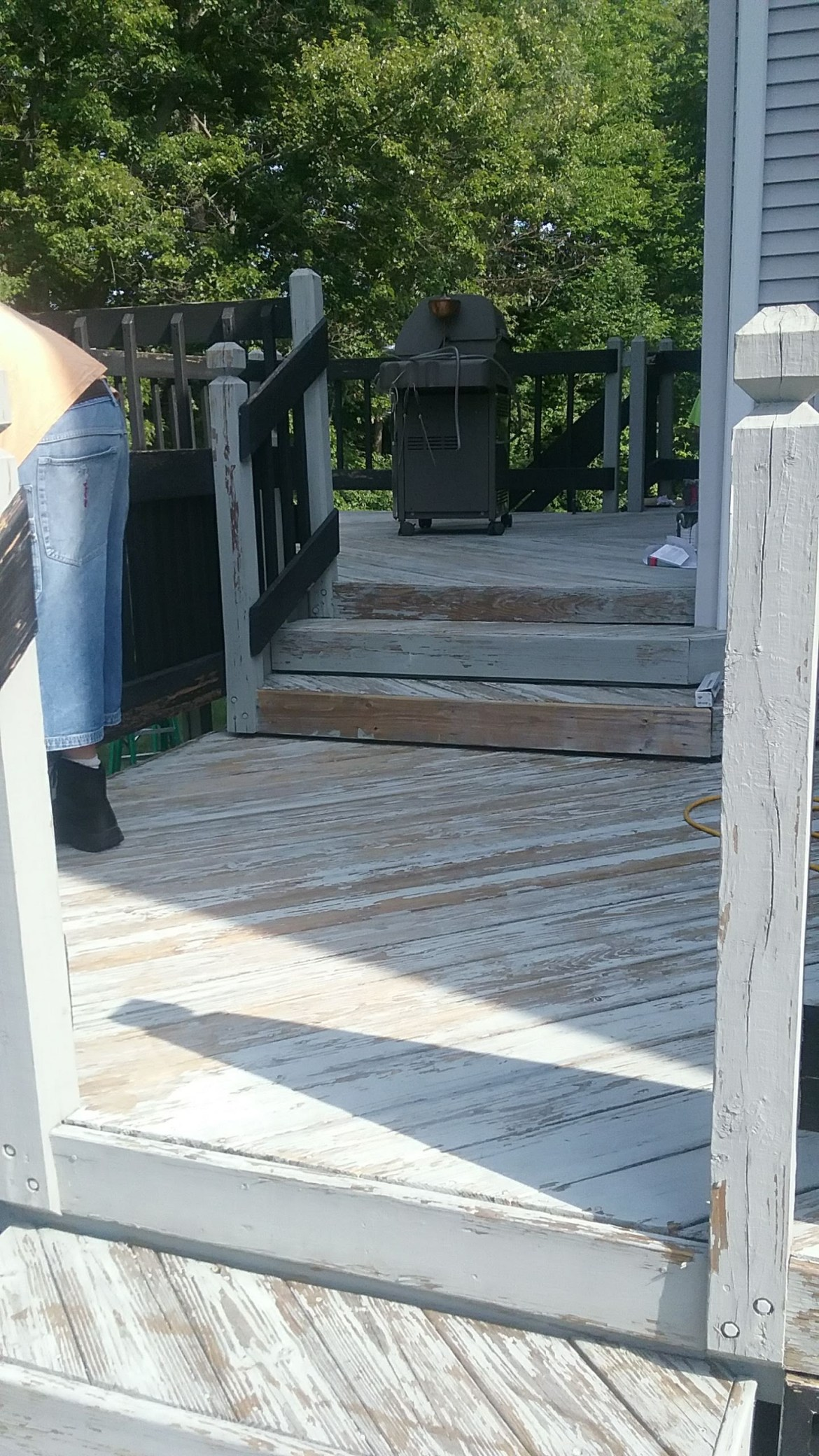deck painting