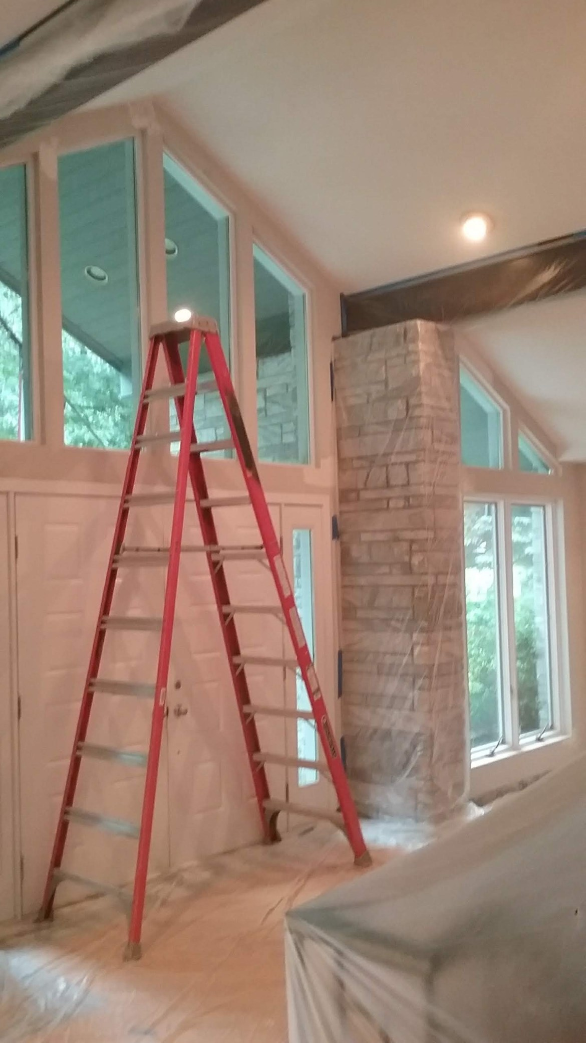 menands remodeling project paining