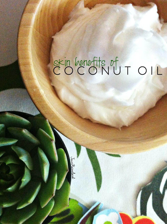 Coconut Oil Skin Benefits