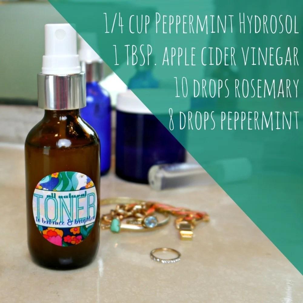 DIY Apple Cider Vinegar Toner