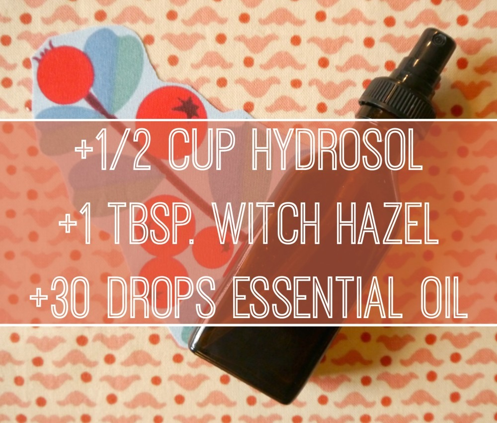 DIY Body Splash Recipe