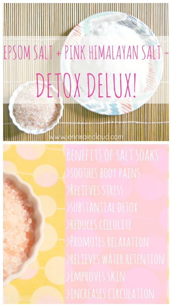 Detox Salt Bath Benefits