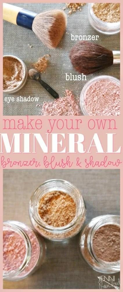DIY Bronzer, Blush and Shadow