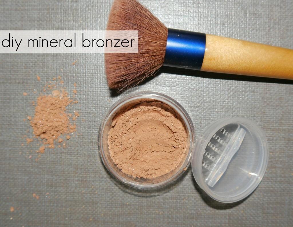 DIY Mineral bronzer