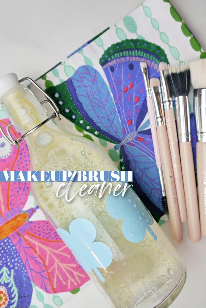 How To Clean Makeup Brushes My Diy Makeup Brush Cleaner Jenni Raincloud