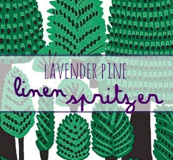 Linen Spritzer label