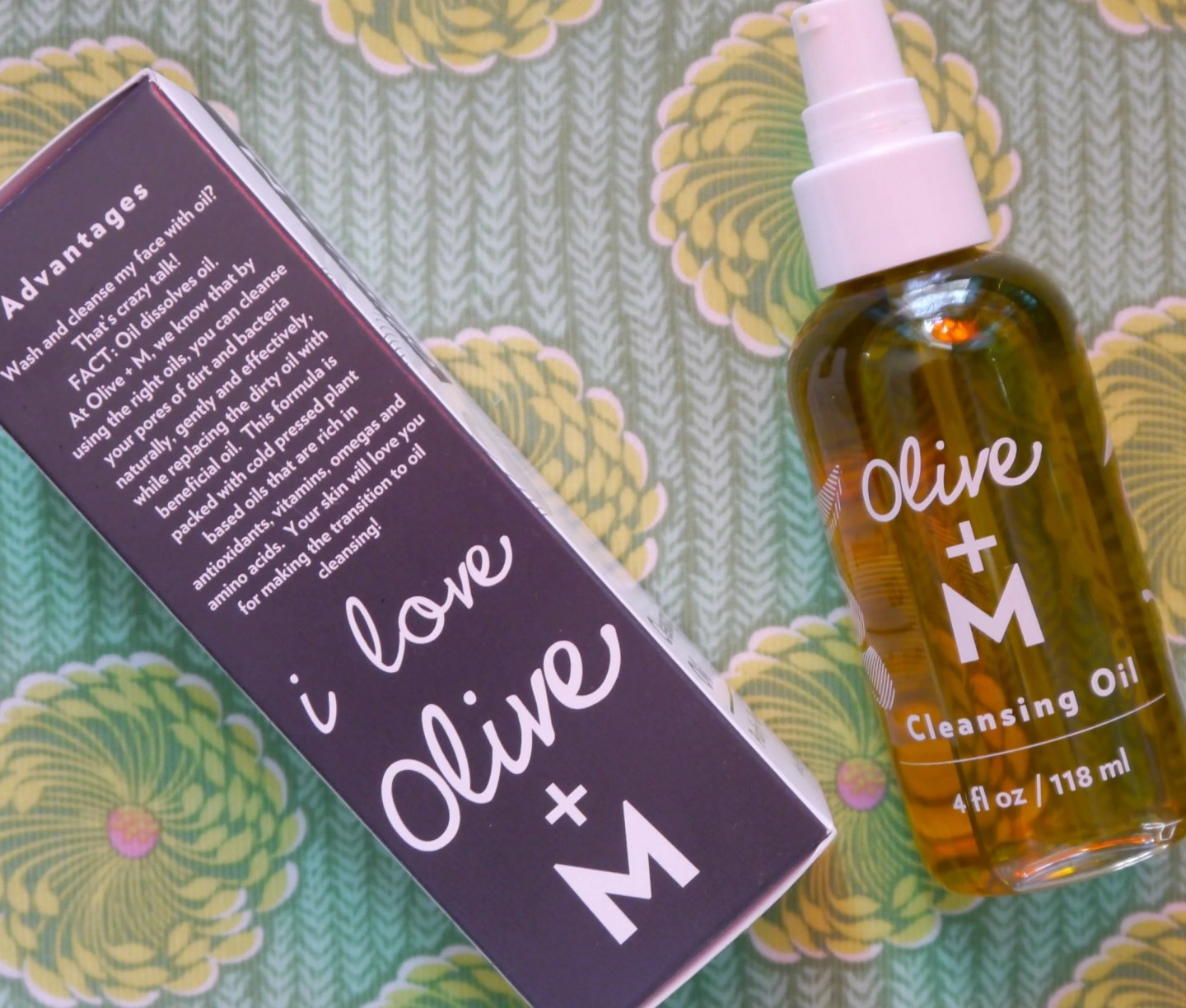 Olive + M Oil Cleanser
