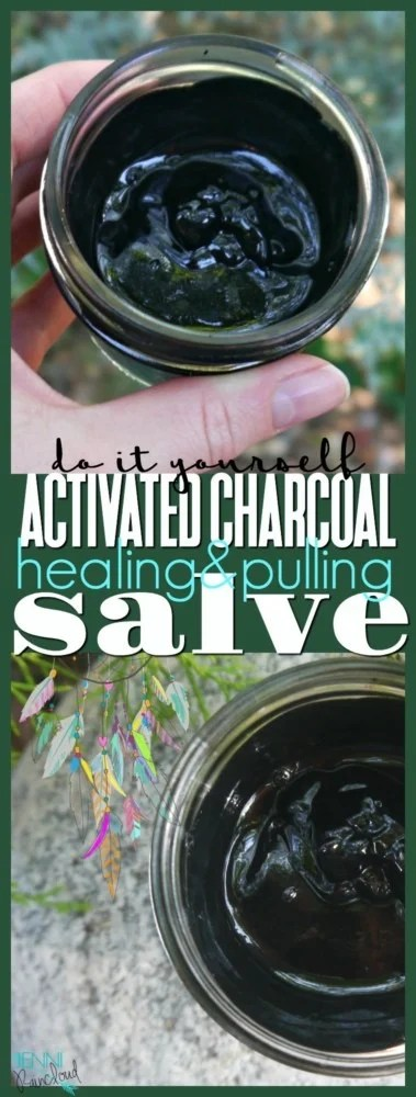 DIY Activated Charcoal Salve