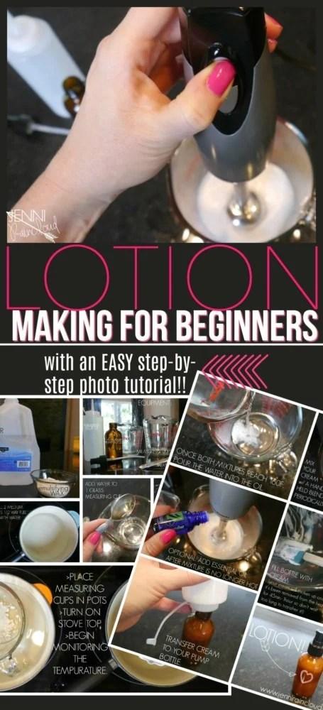 DIY Lotion Tutorial for Beginners