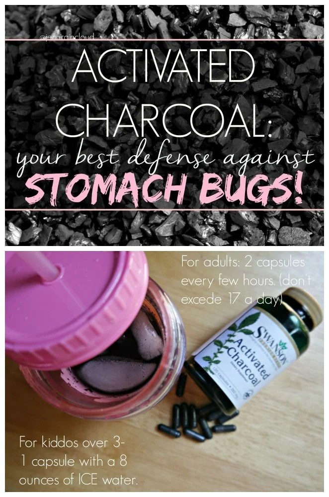 Acivated Charcoal for Stomach Bugs