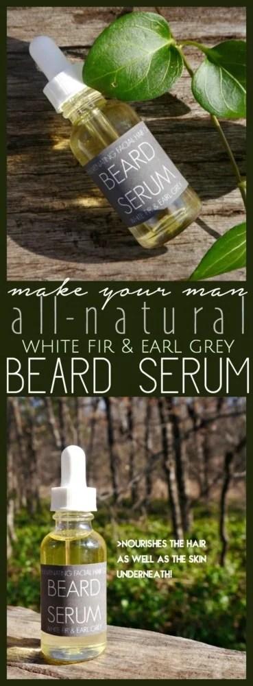 DIY Beard Serum