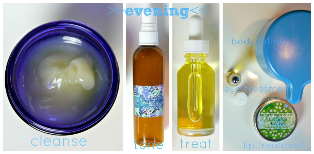 My DIY Skin Care Evening Routine