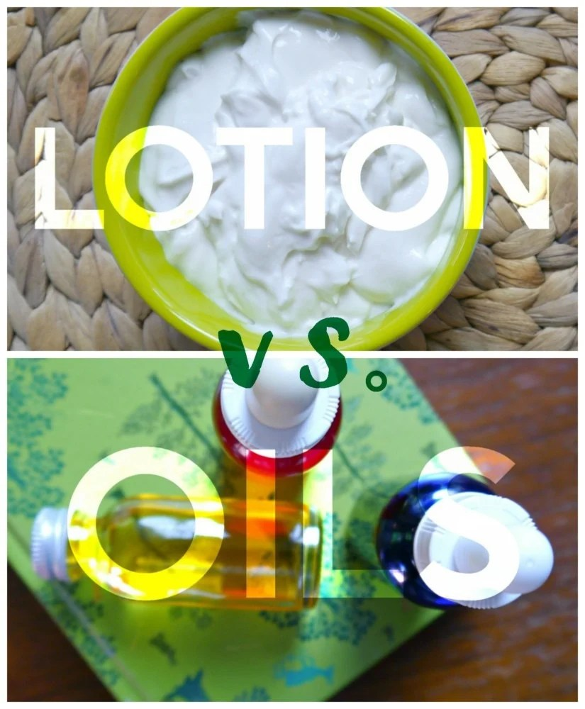 Facial Lotion verses Facial Oils