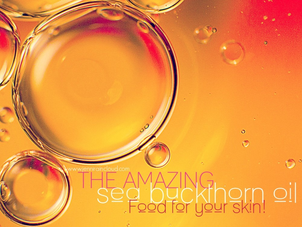 Skin Benefits of sea buckthorn oil