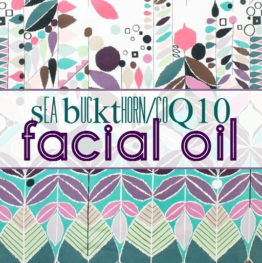 DIY Seabuckthorn Oil coQ10 facial oil