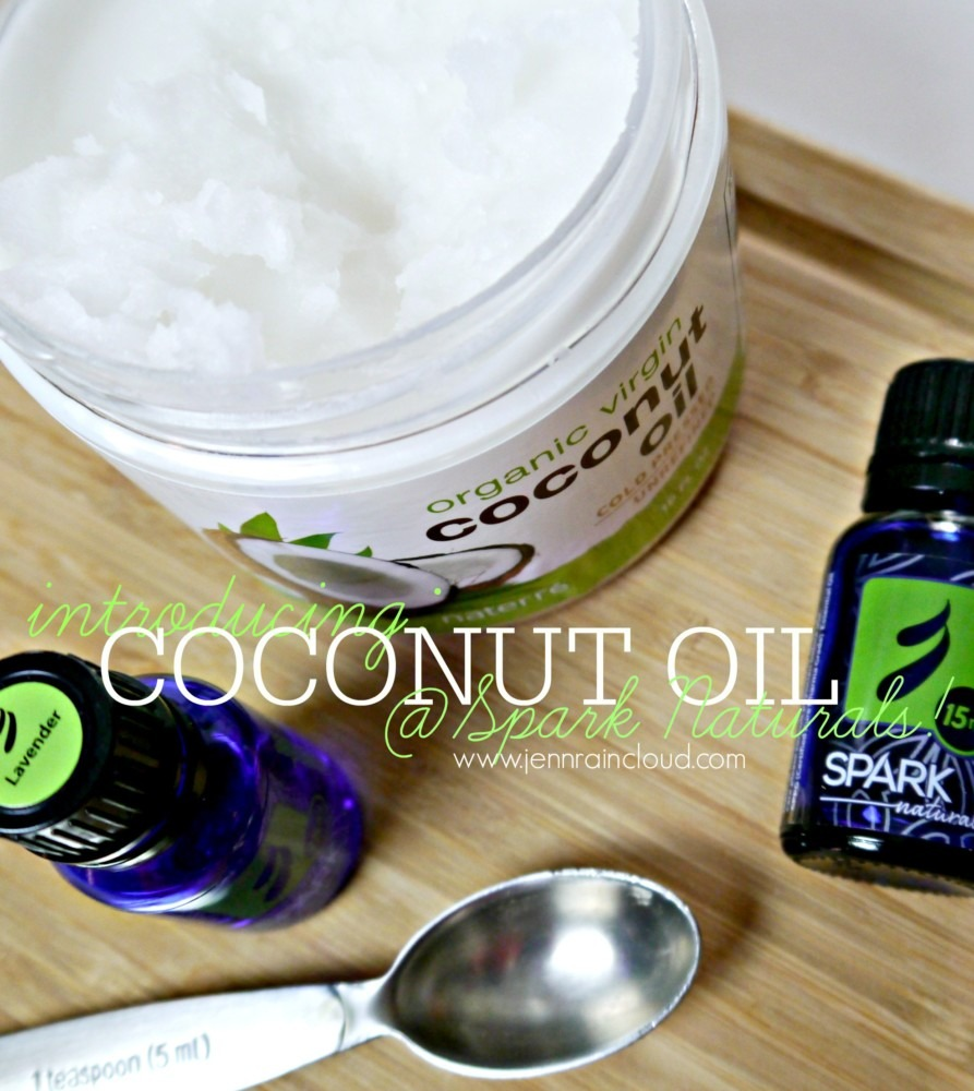 Coconut oil at Spark Naturals