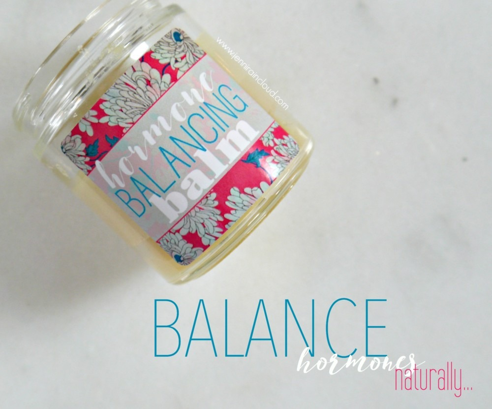 DIY Hormone Balance Balm