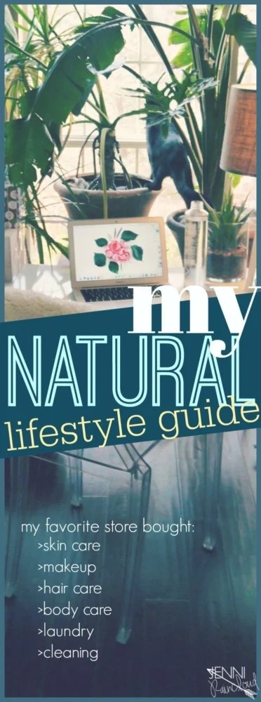 My natural lifestyle guide