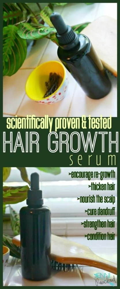 Hair Growth Serum DIY