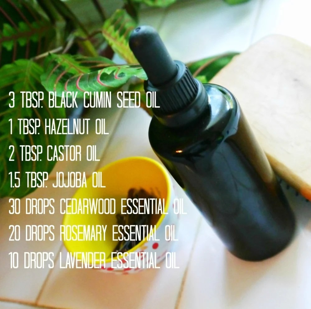 DIY Hair Re-Growth Serum