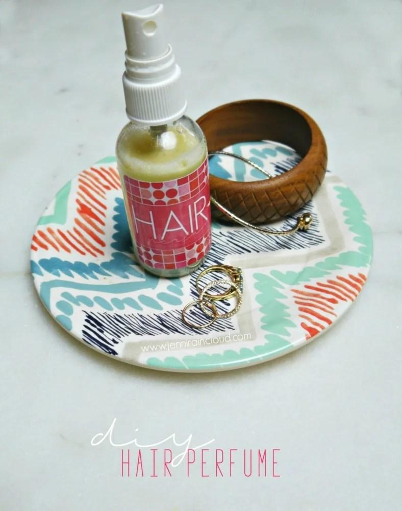 DIY Hair Perfume - Jenni Raincloud