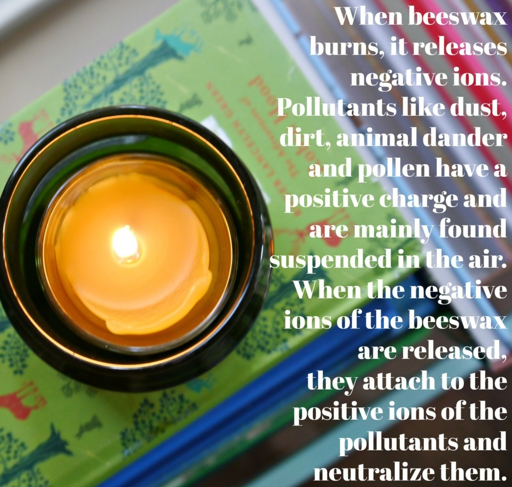 Beeswax Candles benefits