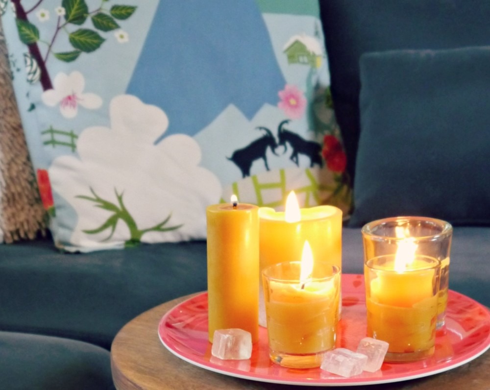 Benefits of beeswax candles