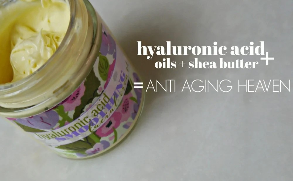 Hyaluronic Acid Anti Aging Cream - Jenni Raincloud