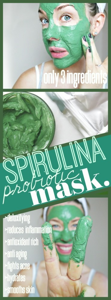 DIY Spirulina Mask