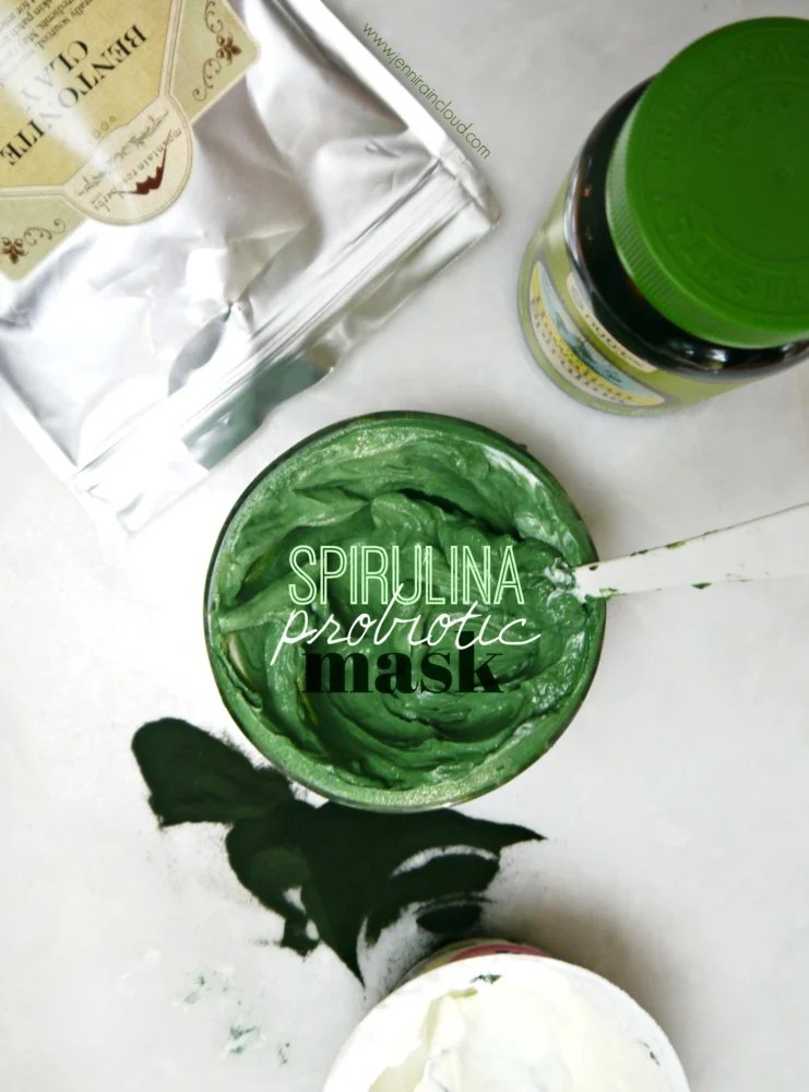 Spirulina Probiotic Mask DIY