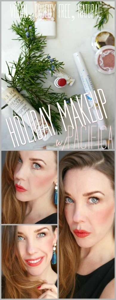 Pacifica Makeup Holiday Look