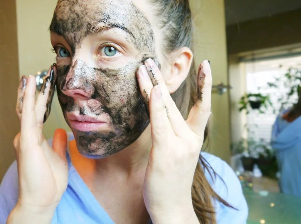 DIY Activated Charcoal mask Cleanser and exfoliator