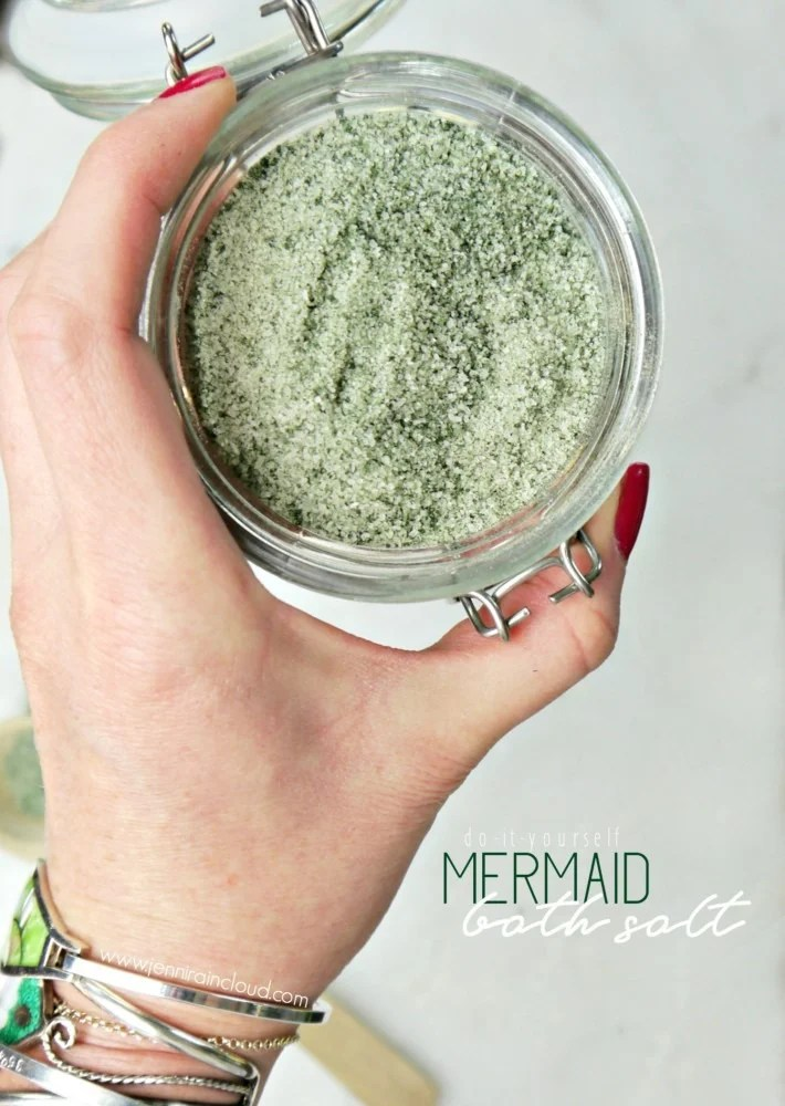 DIY Detox Mermaid Bath Salt