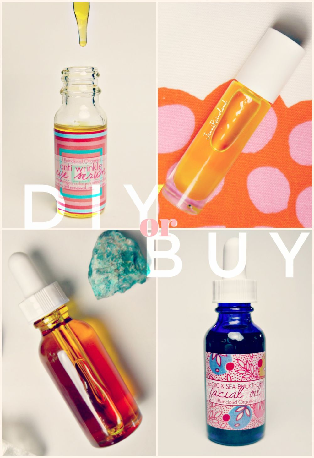 DIY or BUY coQ10 Sea Buckthorn Facial Oil