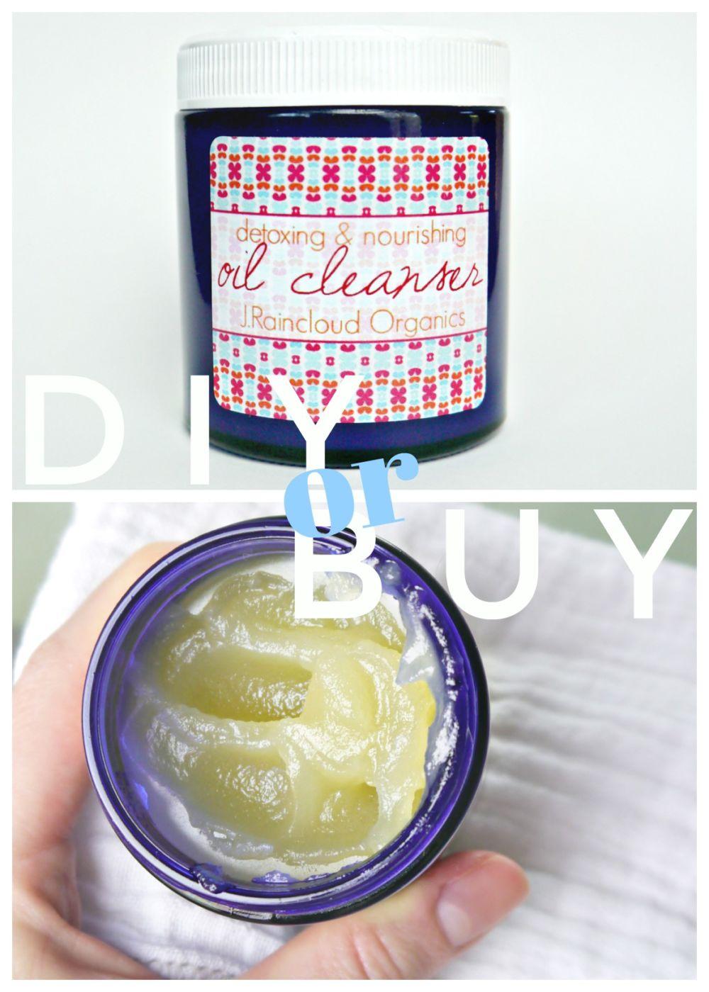 DIY or BUY Detox Oil Cleanser